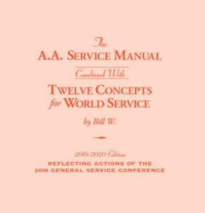 A.A. Service Manual & 12 Concepts for World Service